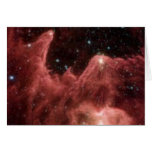 Mountains of Creation in Cassiopeia Greeting Card