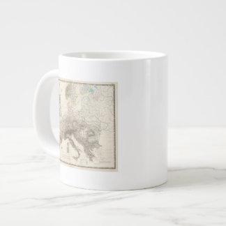 Mountains of Europe Large Coffee Mug