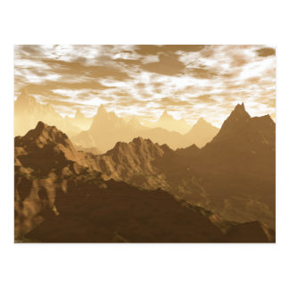 Mountains of Gold Postcard