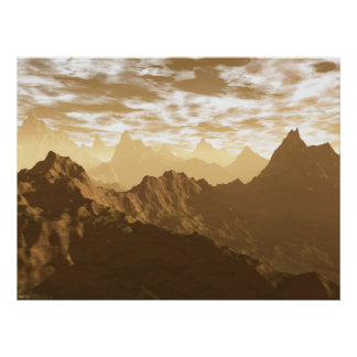 Mountains of Gold Poster