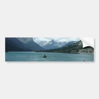 Mountains of Montana Car Bumper Sticker