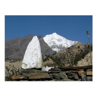 Mountains of Nepal Postcard