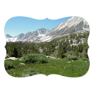 Mountains of Nevada 5x7 Paper Invitation Card