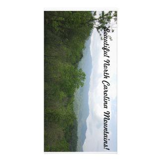 Mountains of North Carolina Personalized Photo Card