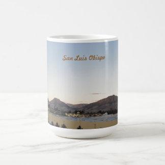 Mountains of San Luis Obispo from Irish Hills Classic White Coffee Mug