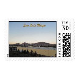 Mountains of San Luis Obispo from Irish Hills Postage