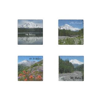 Mountains of Washington Set Stone Magnet