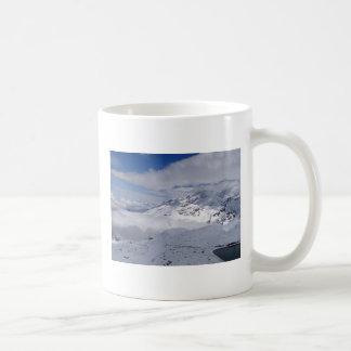 Mountains on the way to Gornergrat in Switzerland Coffee Mug