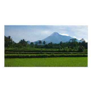 mountains photo card