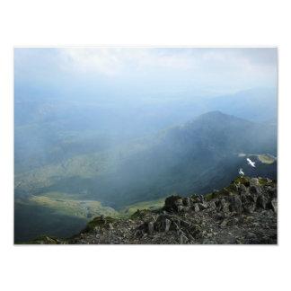 MOUNTAINS PHOTO PRINT