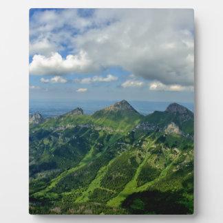 Mountains Plaque