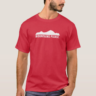 Mountains Please T-Shirt
