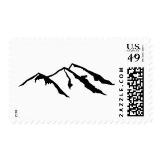 Mountains Postage