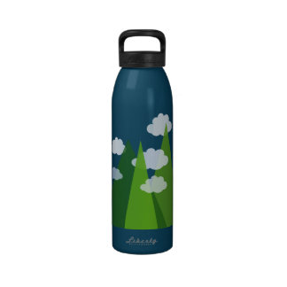 Mountains Reusable Water Bottle
