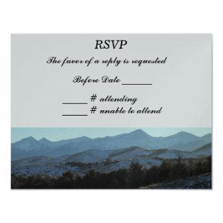 Mountains RSVP Card