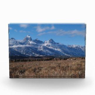 Mountains Scenic Background Award