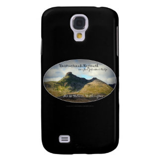 mountains seen from Johnston's Ridge, oval Samsung Galaxy S4 Cover