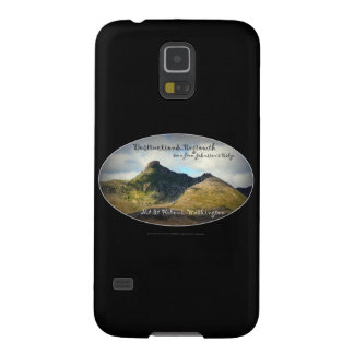 mountains seen from Johnston's Ridge, oval Galaxy S5 Cover