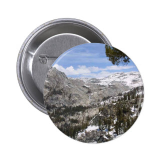 Mountains Sierras Pinback Buttons