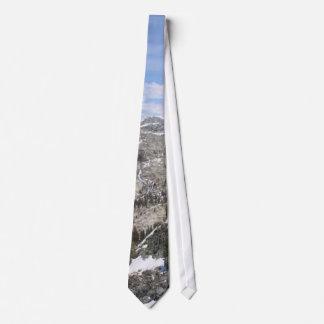 Mountains Sierras Neck Tie