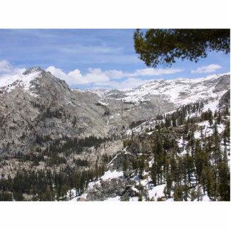 Mountains Sierras Standing Photo Sculpture