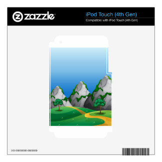 Mountains Skin For iPod Touch 4G