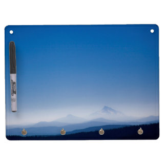 Mountains & Sky Dry Erase and Keychain Holder Dry Erase Board With Keychain Holder