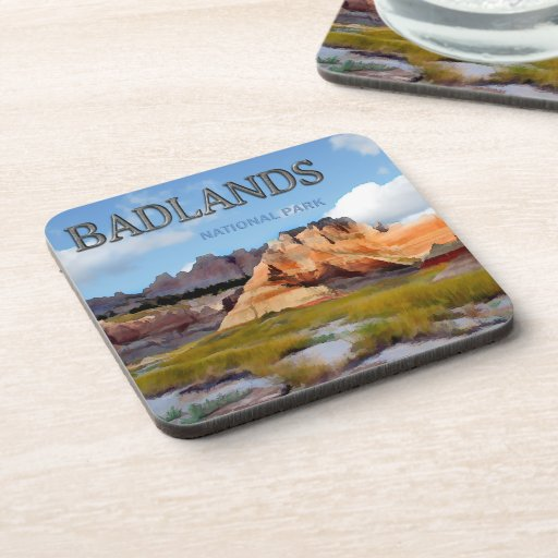 Mountains & Sky in the Badlands National Park Coaster