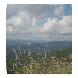 Mountains Sky on Bandana