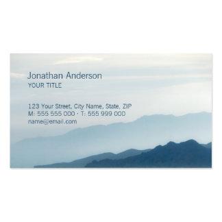 Mountains Skyline business card