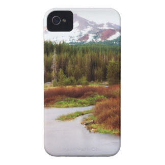 Mountains Snow Southwestern Frozen Winter Fall iPhone 4 Cover