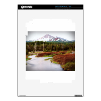 Mountains Snow Southwestern Frozen Winter Fall Decals For The iPad 2