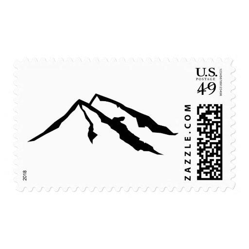 Mountains Stamp