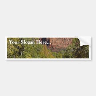 Mountains Streams Zion Bumper Sticker