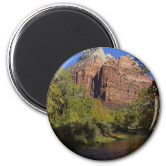 Mountains Streams Zion Refrigerator Magnets