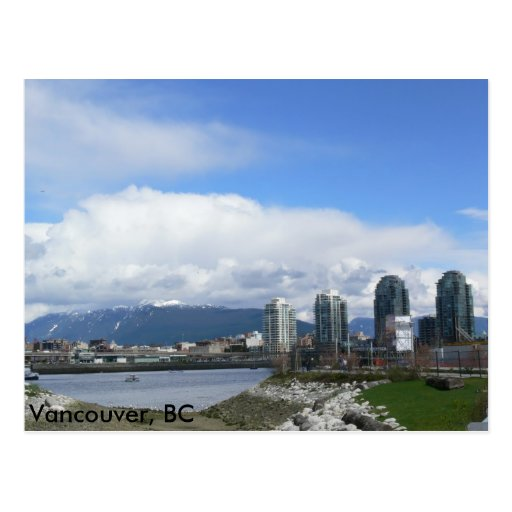 Mountains Vancouver, BC Post Cards