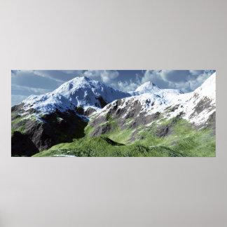Mountainscape Print