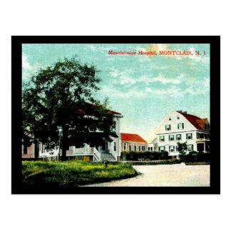 Montclair new jersey postcards zazzle mountainside hospital montclair nj vintage postcard negle Images