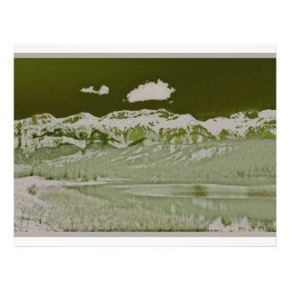 mountainss tarjeta publicitaria