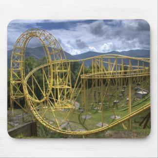 """""""Mountaintop Coaster"""" Mousepad"""