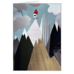 Mountaintop House Greeting Card