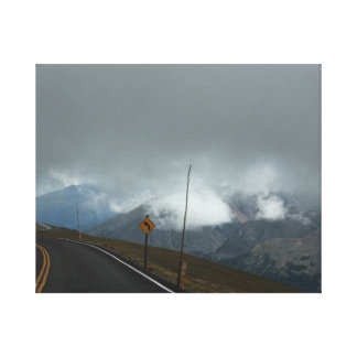 Mountaintop View Canvas Print