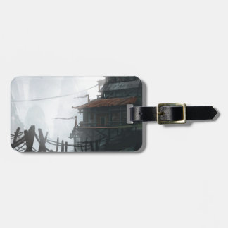 Mountaintop Village Luggage Tag