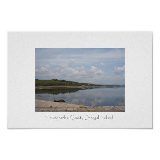 Mountcharles, County Donegal, Ireland. Poster