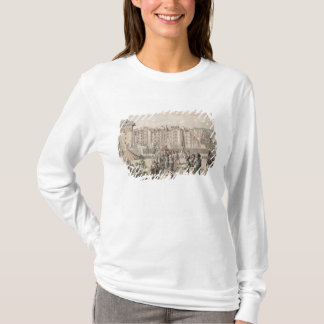 Mountebanks and Promenaders on the Pont T-Shirt
