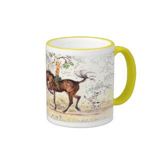"""""""Mounted Aerobics"""" JudeToo JT05 mug"""