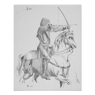 Mounted Archer Posters