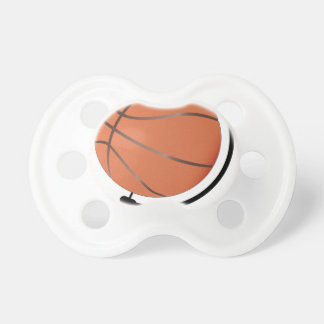 Mounted Basketball On Rotating Swivel Pacifier