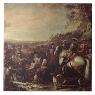 Mounted Dragoons of the King's Household, 1737 (oi Ceramic Tile