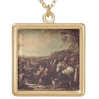 Mounted Dragoons of the King's Household, 1737 (oi Gold Plated Necklace